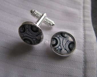 Black & White Cufflinks