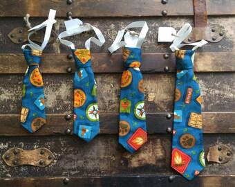Toddler Summer Camp Necktie