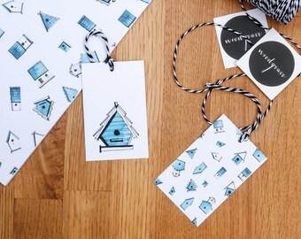 Bird House Gift Tags