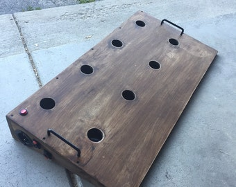 Hext Pedalboards - Custom sized pedalboard made just for you!
