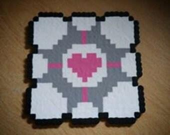 Companion Cube Coaster/Magnet