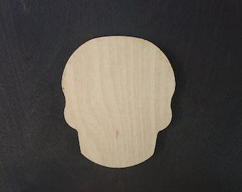 Skull Wood panel