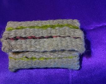 Hand woven coin purse