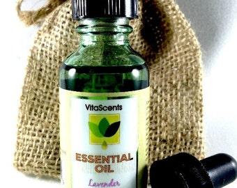 Essential Oil, VitaScents LAVENDER Therapeutic Grade