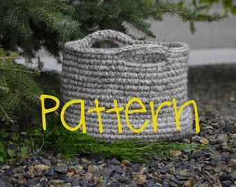 The Olive Basket Crochet Pattern