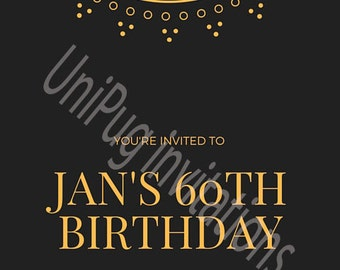 Jan Personalised Invitation