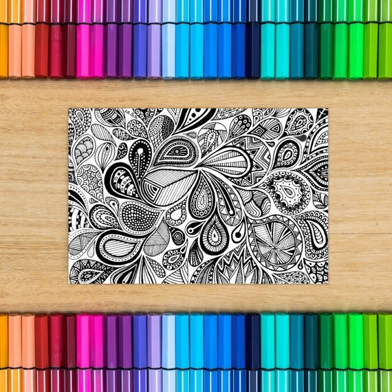 Postcard coloring - groun...