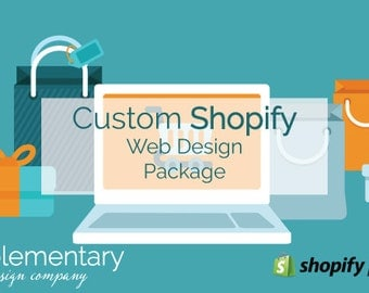 Custom Shopify Web Design Package
