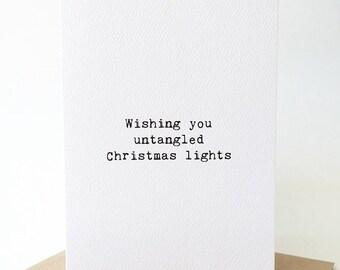 Merry Christmas Card/Friendship Christmas card/Funny Christmas card