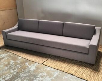 Modern extra-long sofa