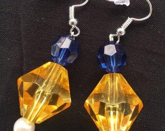 WVU Earrings