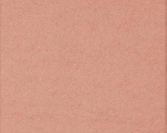 Poly Cotton Sweatshirt Fleece Fabric by the Yard -Baby Pink (LT2)