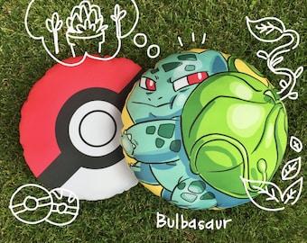 Bulbasaur Pokemon Pokeball Pillow Pokemon Go