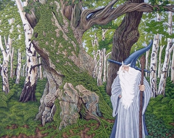 Gandalf - Signed limited edition giclee print