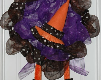 Witch's Shoe Wreath