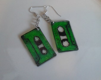 Mix Tape 80's inspired earrings
