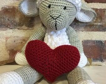 Skaapie the crochet lamb
