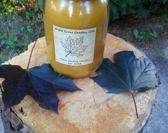 Vanilla Hazelnut Scented Wooden Wick Candle