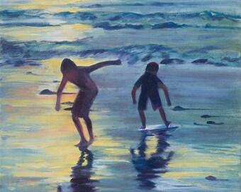 "Ocean Dance 11""x14"" fine art print"