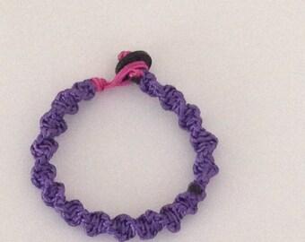 purple shambala bracelet