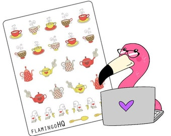 Time for Tea- Planner Stickers