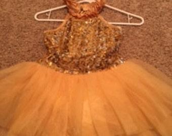 Stunning gold dress