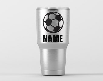 Soccer Decal Etsy