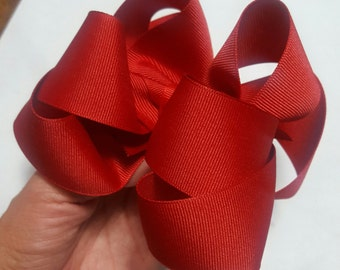 Red bow perfect for the holidays!