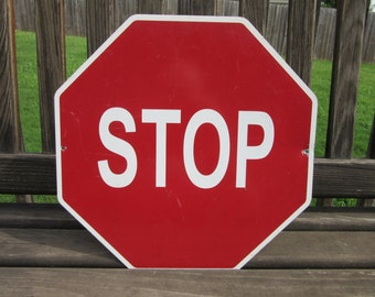 Little Old Red Stop Sign
