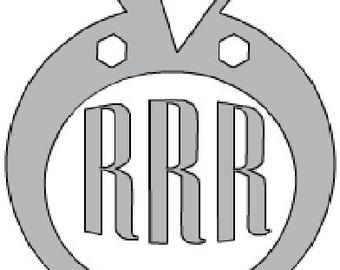 Diamond Ring Monogram