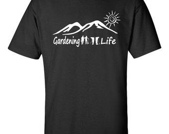 Gardener T-shirt - Gardening Life