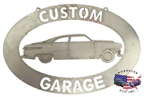 Custom Car Garage - Plasma Cut Metal Shop Sign