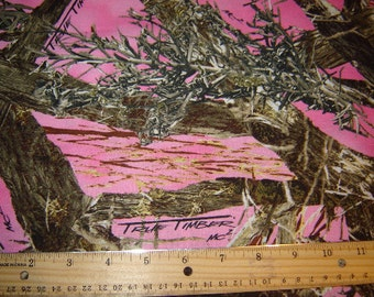 True Timber Camouflage Camo Fabric Pink From Springs Creative