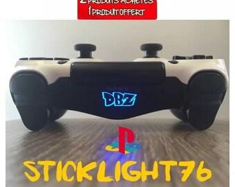 Stickers dbz light bar ps4 controller controller
