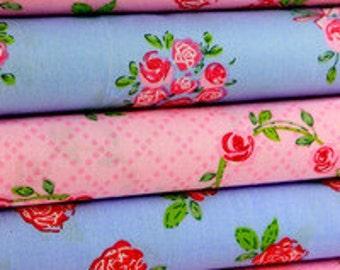 Fabric roses 5 x 50 x 140