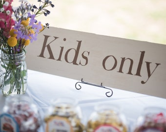 Customizable Wedding Signs