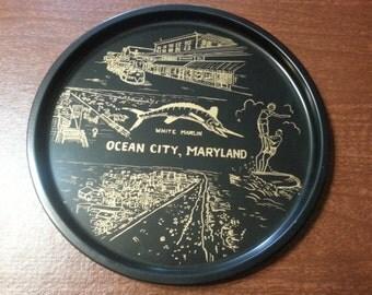 Vintage Ocean City Maryland Platter