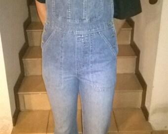 Original 70 's jeans overalls