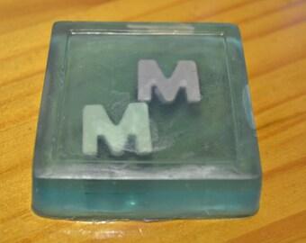 Monogrammed Handmade Soap