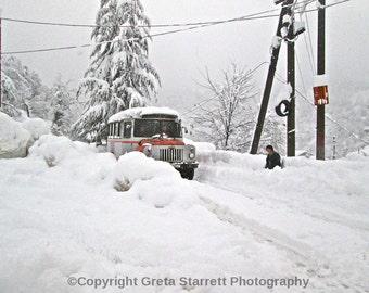 Mountain Snowstorm