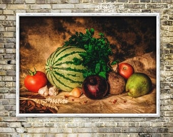 Renaissance in my kitchen print, artwork, color photography, classical, instant download