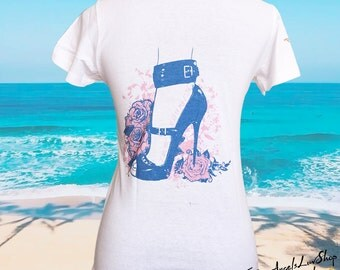 Woman Boss of My Life Art fitted T-shirt