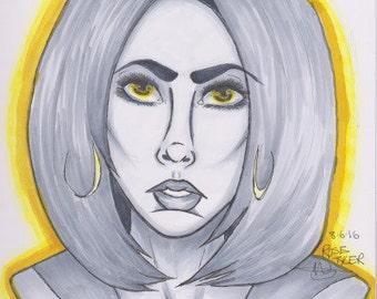Rose Tyler The Bad Wolf (Fan Art)