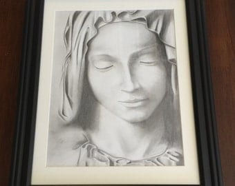 Mary 8x10 print