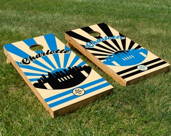 Carolina Football Cornhole Board Set