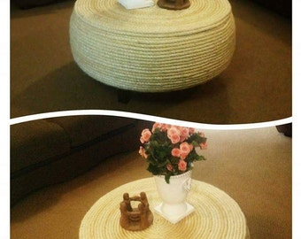 Rope coffe / side table
