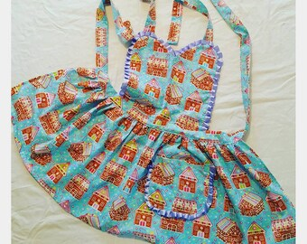 Gingerbread Childrens Apron