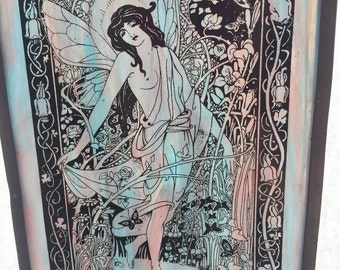 Fantastic Fairy Stained Glass