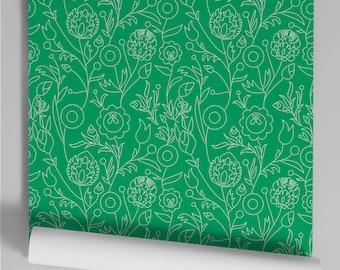 Wallpaper spilled green Murdoch