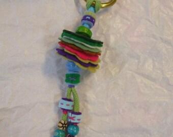 bag decoration or Keychain of felt